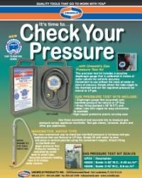 Check Your Pressure