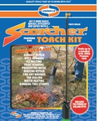 The Scorcher: Propane Gas Torch Kit