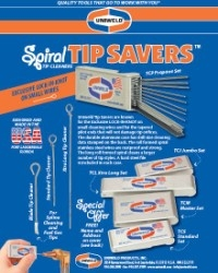Spiral Tip Savers: Tip Cleaners