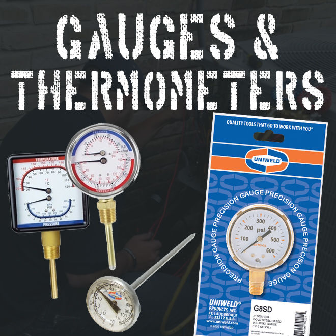 Gauges & Thermometers