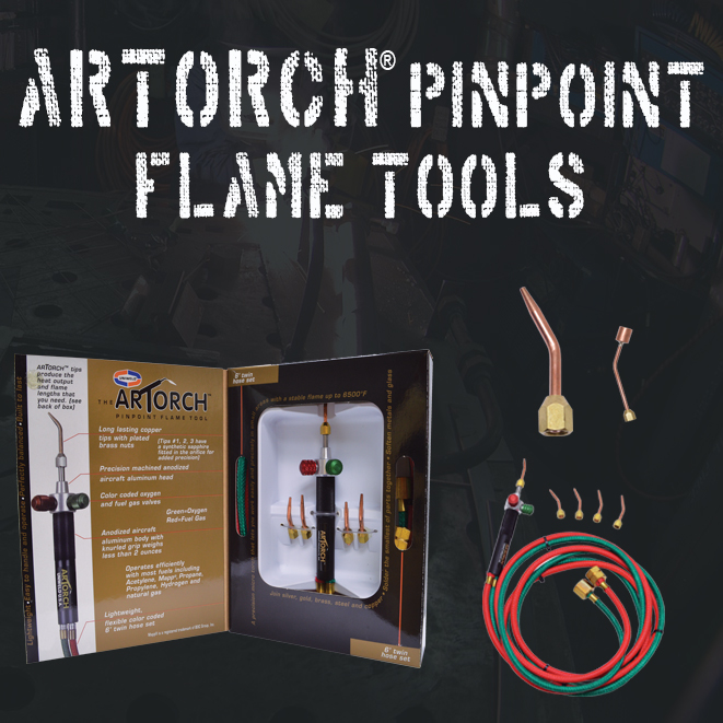 Artorch® Pinpoint Flame Tools