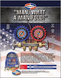Manifold R410a/R404a/R407c/R134a